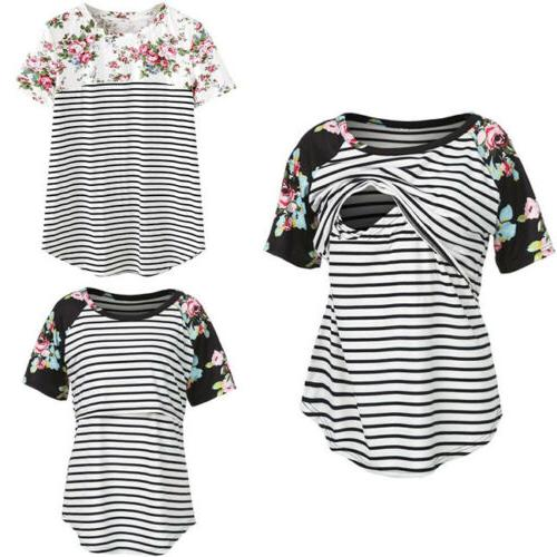 us fashion pregnant maternity clothes nursing tops