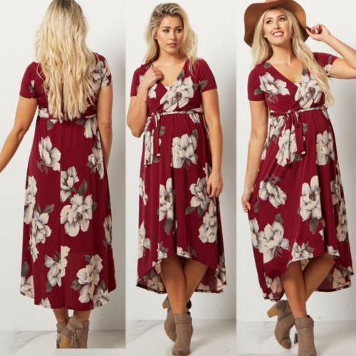 US Women Maxi Gown Photography Clothes
