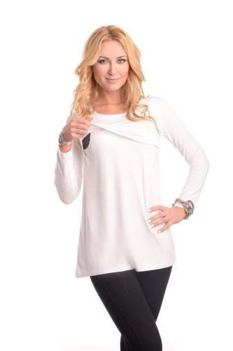 US Pregnant T-Shirt Blouse Casual