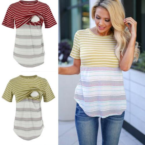 USA Maternity Tee Short