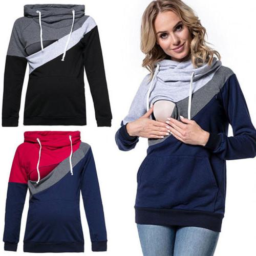 USA Clothes Breastfeeding Top Winter Tops