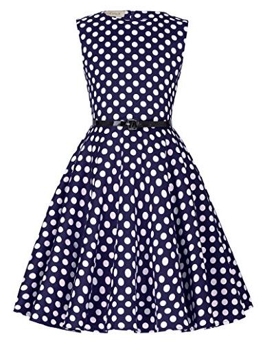 vintage cocktail swing party dresses for girls
