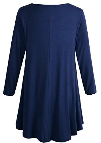 LARACE Tunic Top Flare T-Shirt