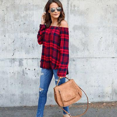 Women Sleeve Loose Tops T OL Casual Button Blouse