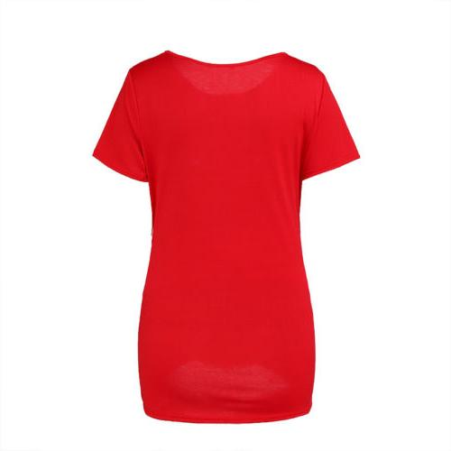 Women Sleeve Pregnancy Tops Blouse Tee US