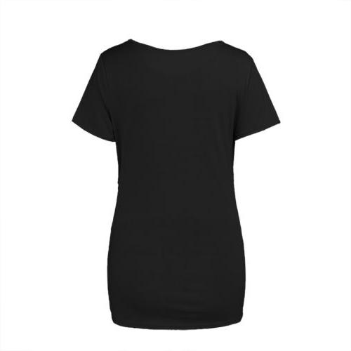 Women Maternity Sleeve T-shirt Tops