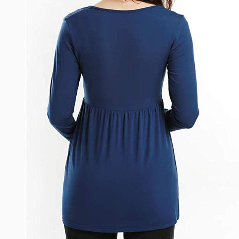 Women Pregnant Maternity Solid Clothes