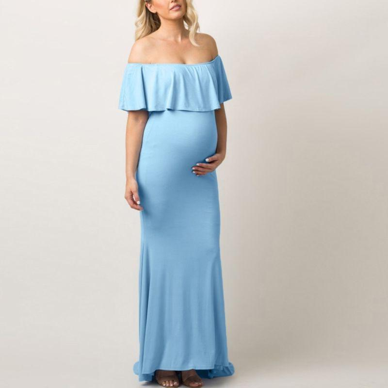 Women Shoulder Party Pregnancy Clothes