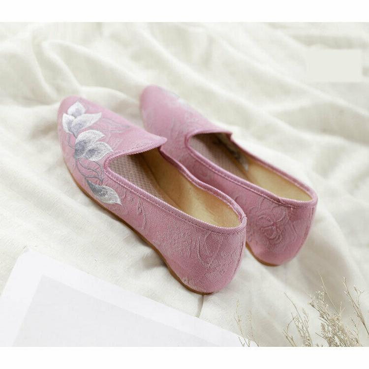 Women's Flats Pointed Shoes Cloth