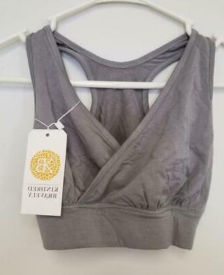 Women's Gray KINDRED BRAVELY Nursing Bra ~ XS-Busty ~ New w/