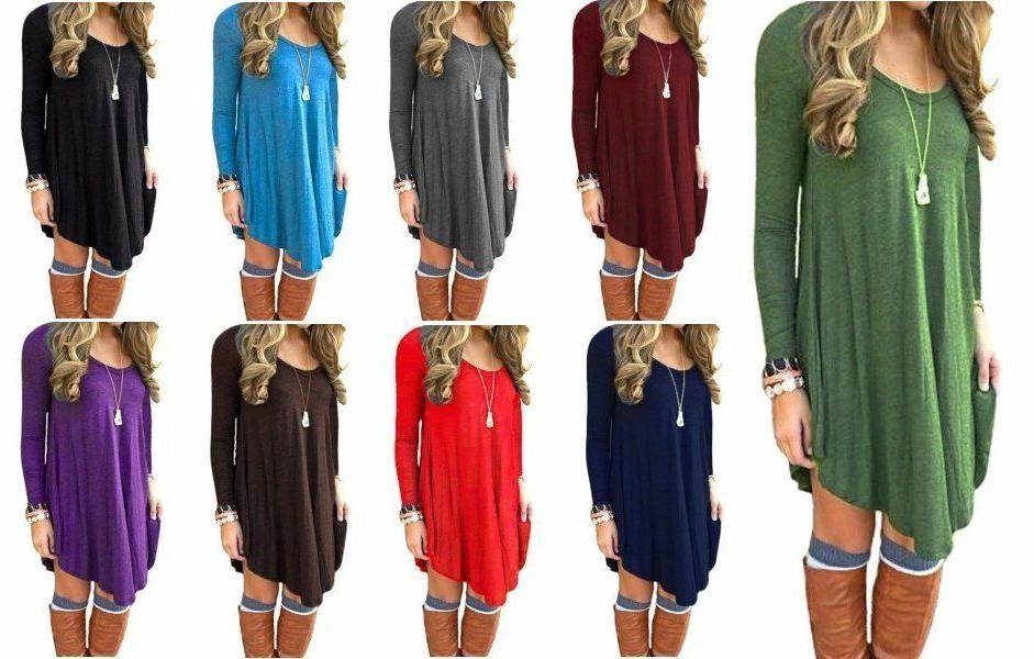 women s long sleeve casual loose t