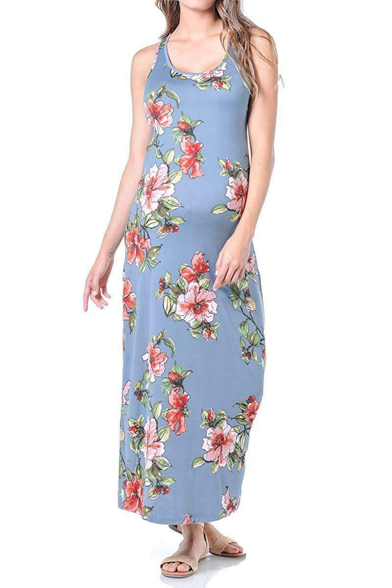 Beachcoco Maternity Jersey Printed Dress