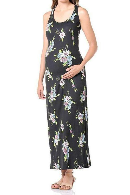 Beachcoco Jersey Printed Maxi Dress