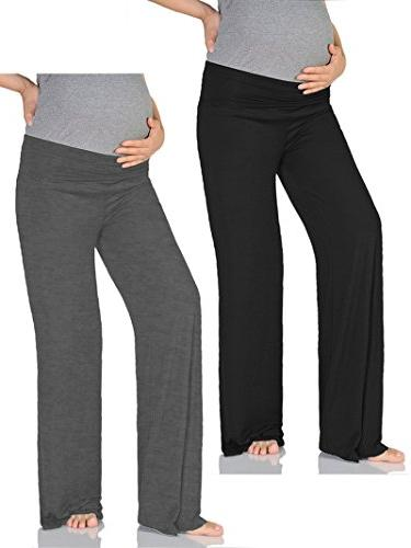 women s maternity wide straight comfortable pants
