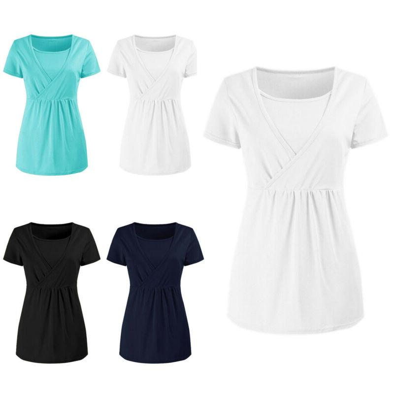 women s pregnant breastfeeding maternity clothes nursing