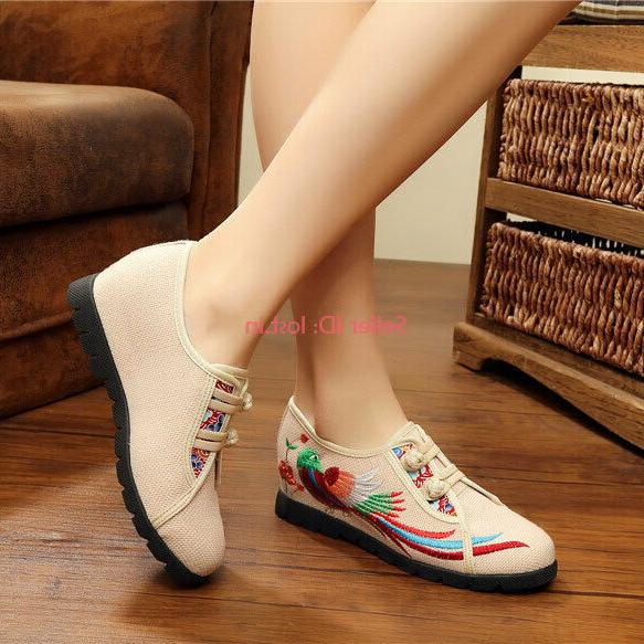 Womens Floral Maternity Shoes Breathable