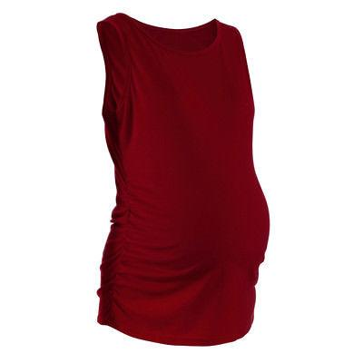 Womens Fashion Side Ruched Tank Blouse