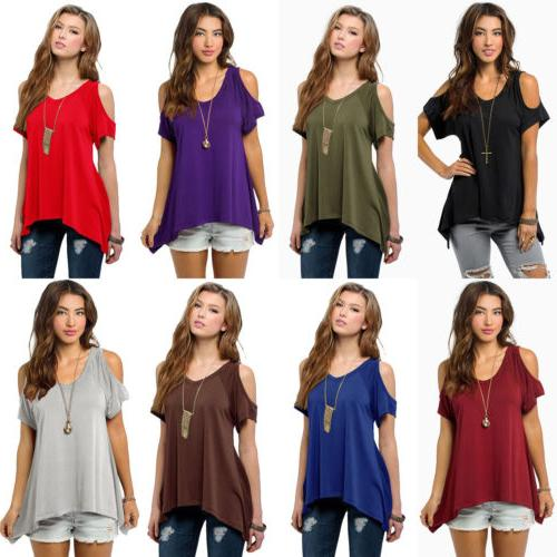 Womens Summer Loose Blouse New