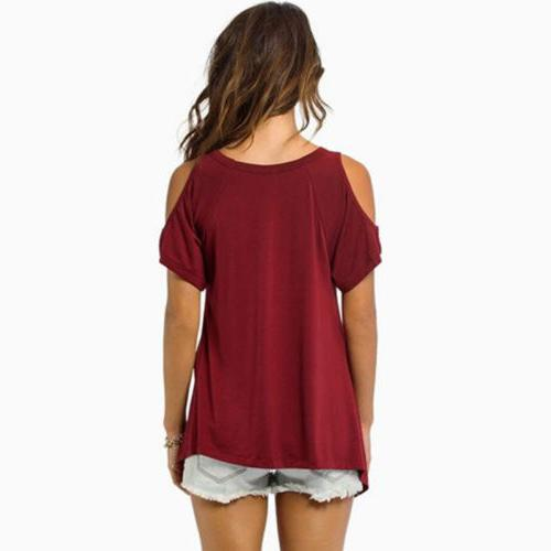 Loose Blouse Casual T-Shirt Tee New