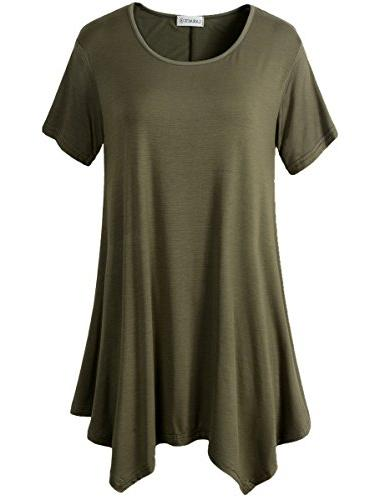 womens swing tunic tops loose fit comfy