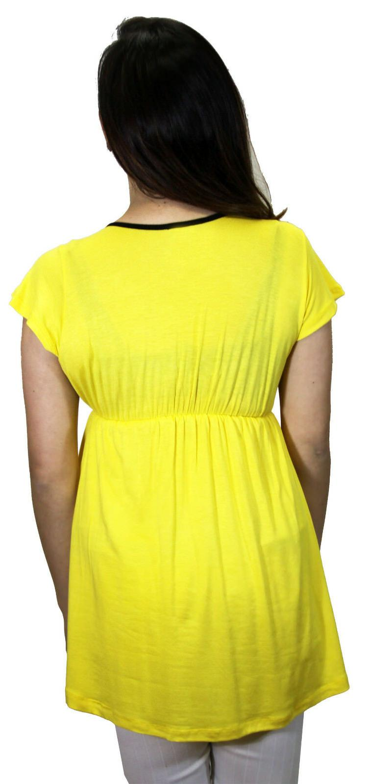 Yellow Solid Sleeve Lace Fitted