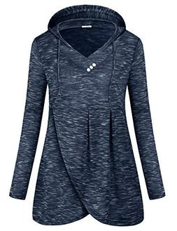 SeSe Code Long Sleeve Tops for Women,Fall Clothes for Junior