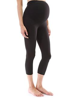 PattyBoutik Mama Shaping Series Maternity Crop Legging Yoga