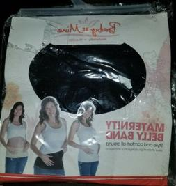 baby be mine maternity belly band size 1 0-4 Black   C45