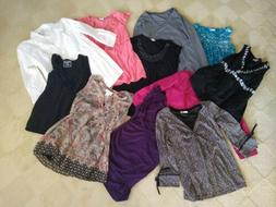 Maternity Clothes Lot 15 Mostly Small Mainly Tops