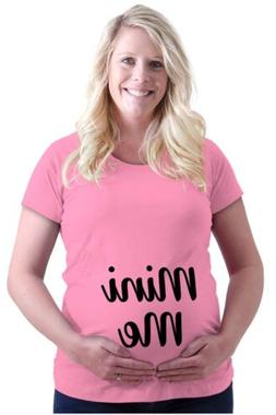 Maternity Clothes Mini Me Funny Cute Mom Gift Pregnant Mommy