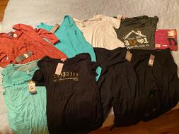 Maternity Clothes - Size Large - 9 Items