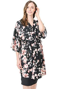 Maternity & Nursing Robe - Cardigan, Labor, Delivery, Hospit