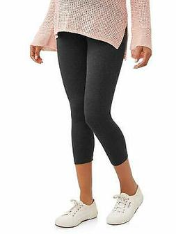 RUMOR HAS IT Maternity Over The Belly Capri Crop Support Leg