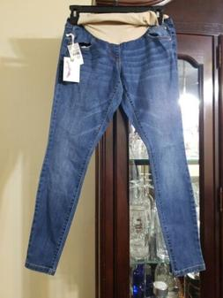 Jessica Simpson Maternity petite jeans Full Belly Panel. PXS