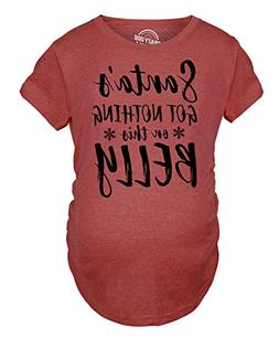 Maternity Santas Got Nothing On This Belly Pregnancy Tshirt