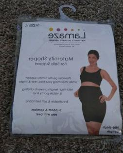 Lamaze Maternity Shaper Intimate Apparel Mid Thigh Length Bl