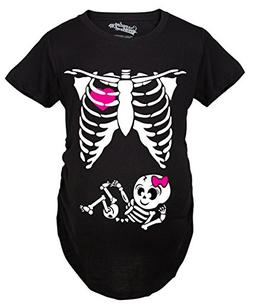 maternity skeleton cute pregnancy bump