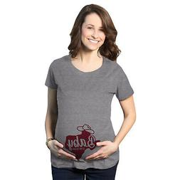 Maternity Texas Baby Is On The Way Pregnancy Tshirt