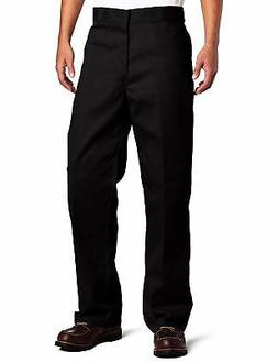 Dickies Men's Loose Fit Double Knee Twill Work Pant Stain &a