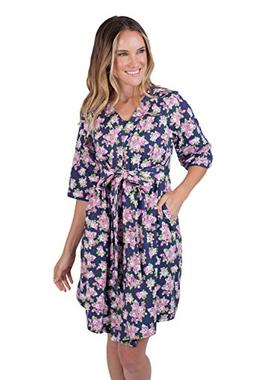Baby Be Mine Mommy & Me Delivery Robe with Matching Baby Rec