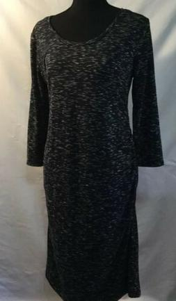 New NWT Maternity Clothes Liz Lange Target Black Stripe Shir