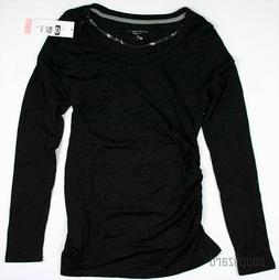 New NWT Women's Maternity Clothes Top Long Sleeve Tee Shirt