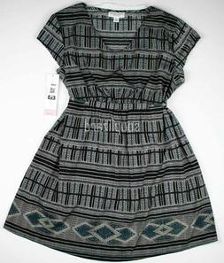 New Women's Maternity Clothes Tunic Top Multi Color Liz Lang