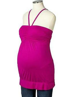 NWT! Old Navy Maternity Jersey Halter Top - Size XL