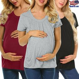 pregnant women summer top short sleeve t