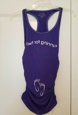 For Two Fitness S Running For Two tank top purple rayon fitn