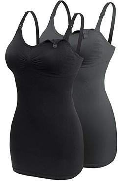 seamless nursing tank tops for breastfeeding padded