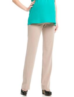 Motherhood Secret Fit Belly Bi-stretch Suiting Straight Leg