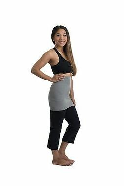 Belevation Targeted Compression Postpartum Belly Band Gray X