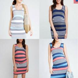 US Breastfeeding Clothes For Pregnant Women Maternity Dress